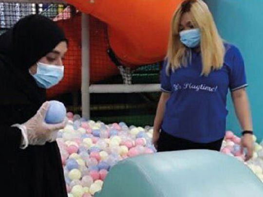 Play centres in abu dhabi sterilization