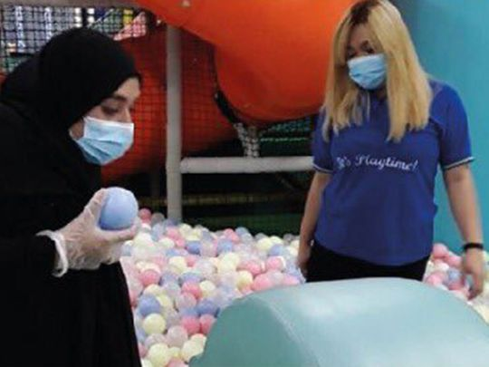 Play centres sterilised in Abu Dhabi