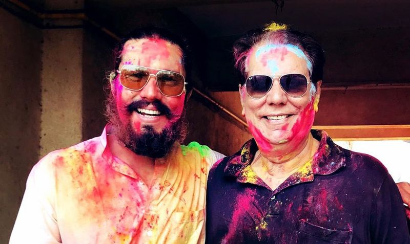 Randeep Hooda with his father Ranbir