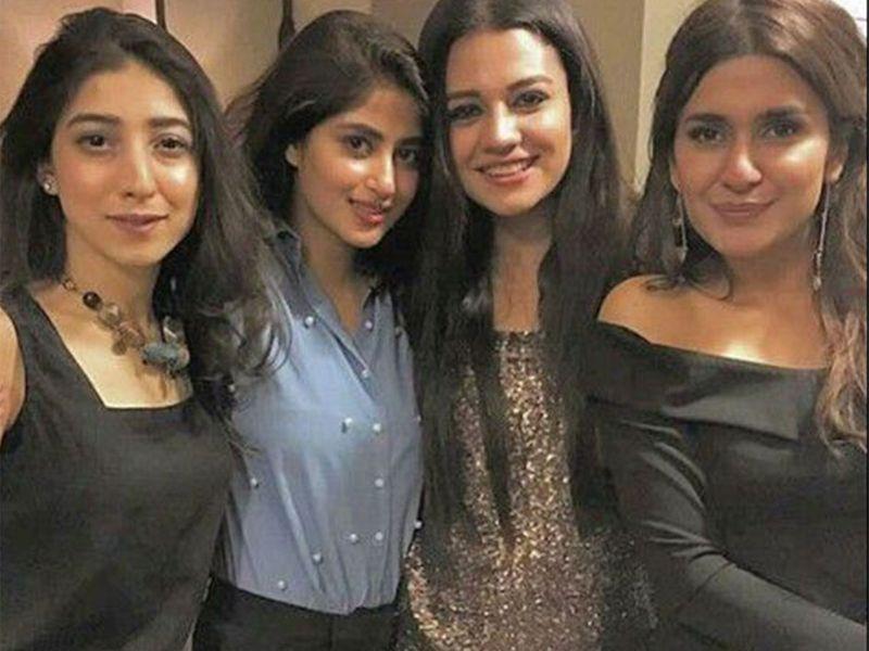 Mariyam Nafees, Sajal Ali, Zara Noor Abbas and Kubra Khan