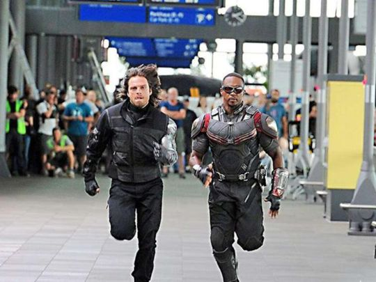 Anthony Mackie and Sebastian Stan in The Falcon and the Winter Soldier (2020)1-1583998561751
