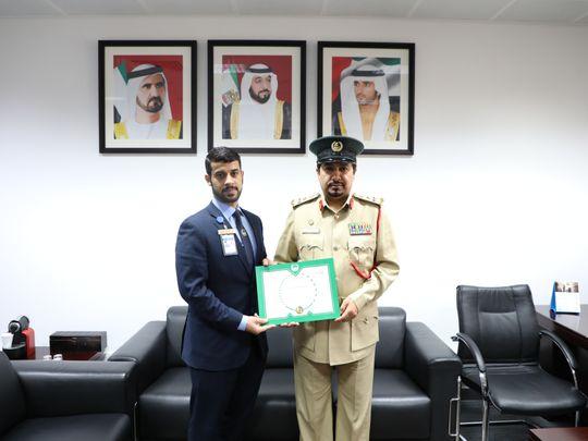 NAT 200312 Dubai Police Hero saves Passenger's life-1584019620631