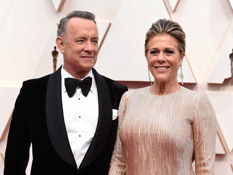 Tom Hanks and his wife Rita Wilson