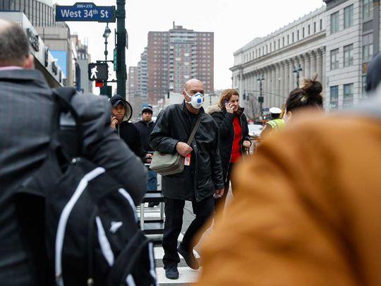 New York in coronavirus fear