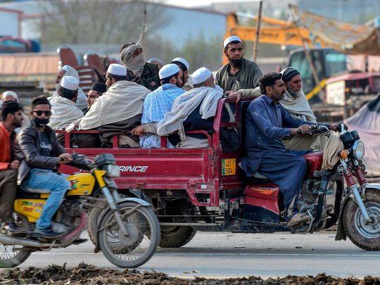 Pakistan pilgrims