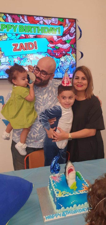 NAT Haneen Aweidah with her family-1584168739766