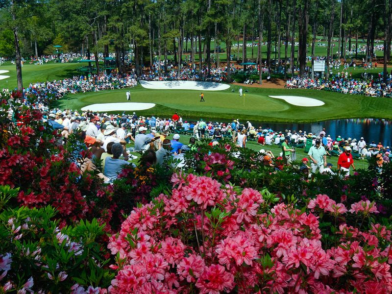 The Masters at Augusta is off