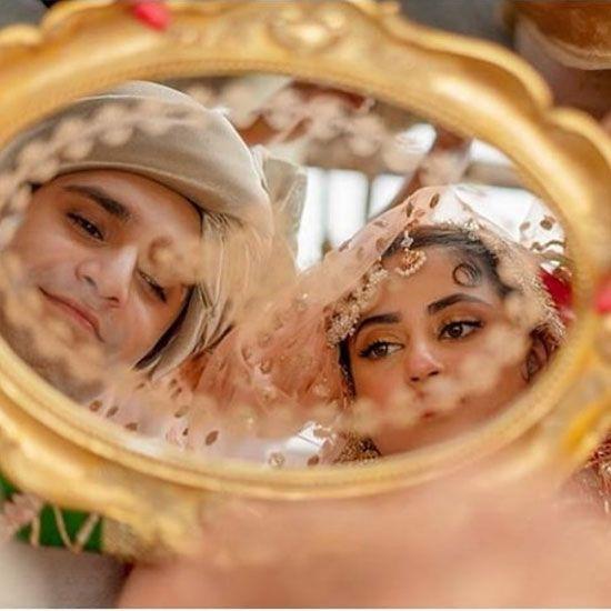 Mr and Mrs Ahad Raza Mir