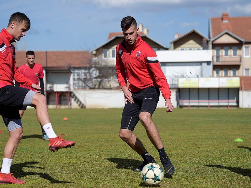 Serbian football player Ilija Ivic