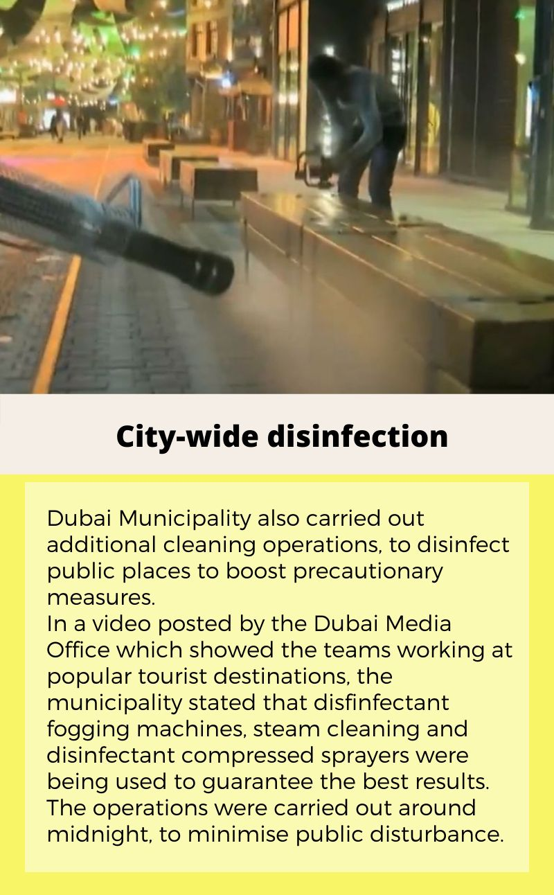 city wide disinfection
