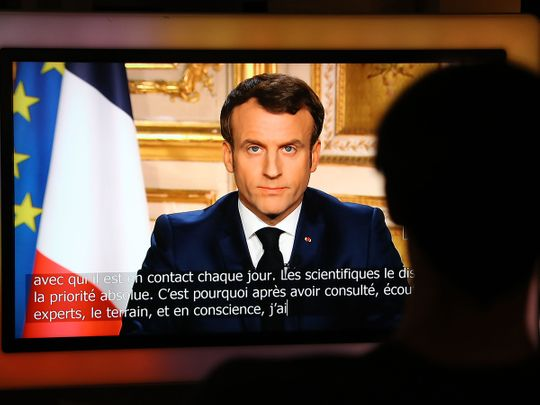 200316 Macron