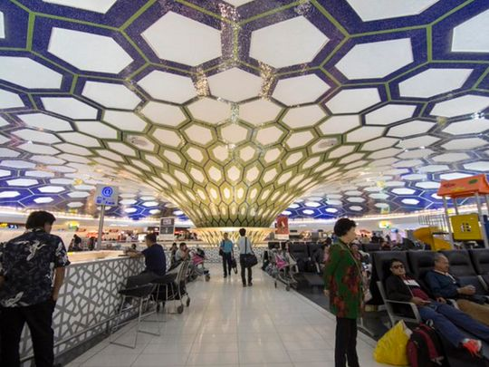 Abu Dhabi Airport Terminal 2 closed