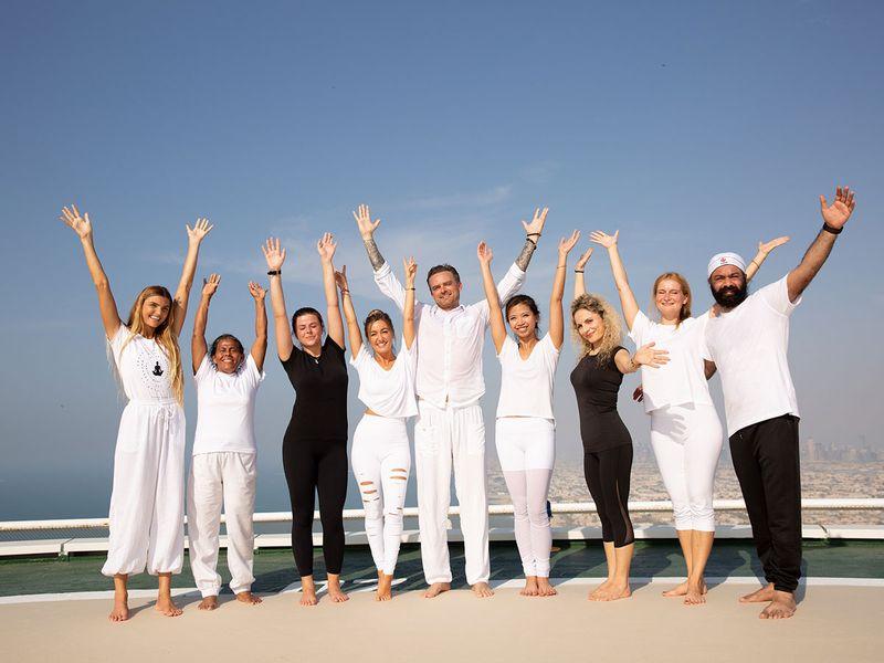 Burj Al Arab Group Yoga