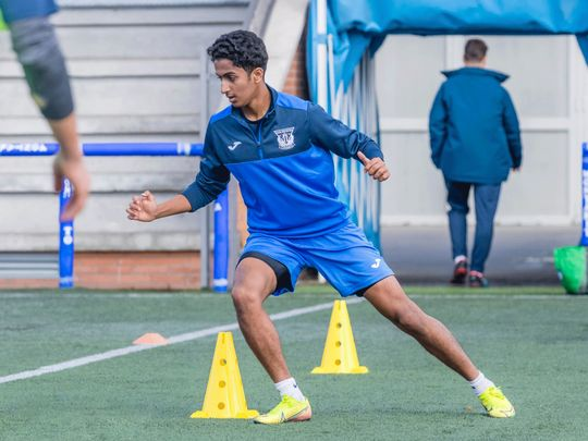 UAE teenager Awadh gets a call-up from Spanish club CD Leganes
