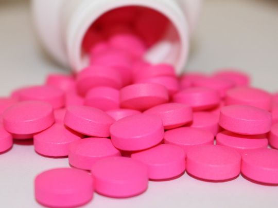 Ibuprofen pain killers tablets medicine generic
