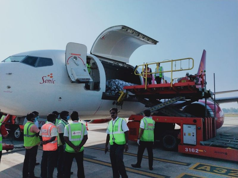 Lulu group's special chartered flight
