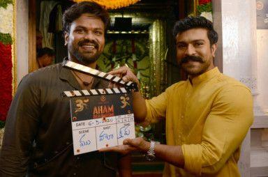 Manoj Manchu with Ram Charan at the muharat shoot-1584450546742