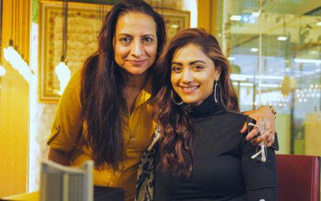 Momta Mohandas with Mini Sarma. Photo courtesy: 7 Media-1584431848461