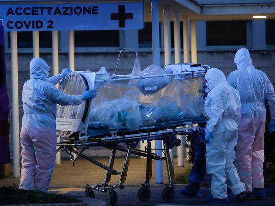 APTOPIX_Italy_Virus_Outbreak_51772