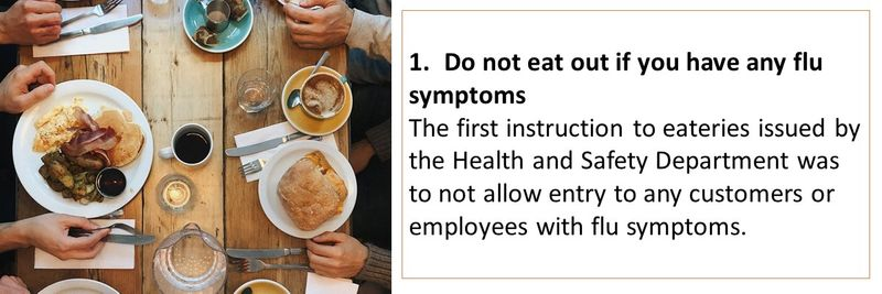 safe eating out