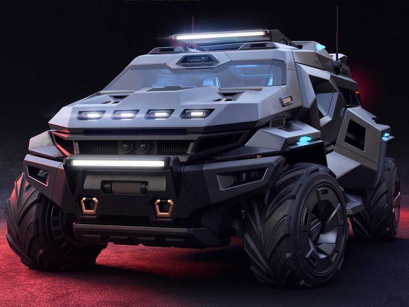 Is this Armortruck concept the ultimate apocalypse SUV? | Auto-news – Gulf  News