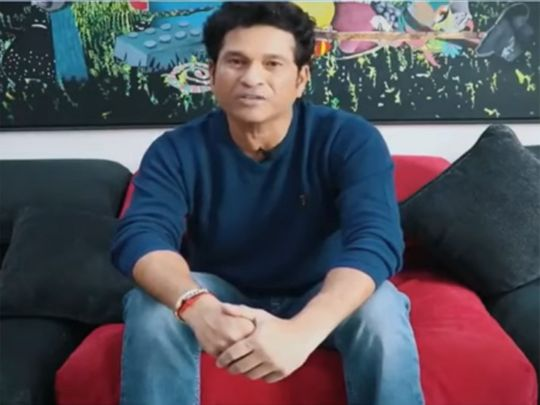 Sachin Tendulkar speaks on Twitter