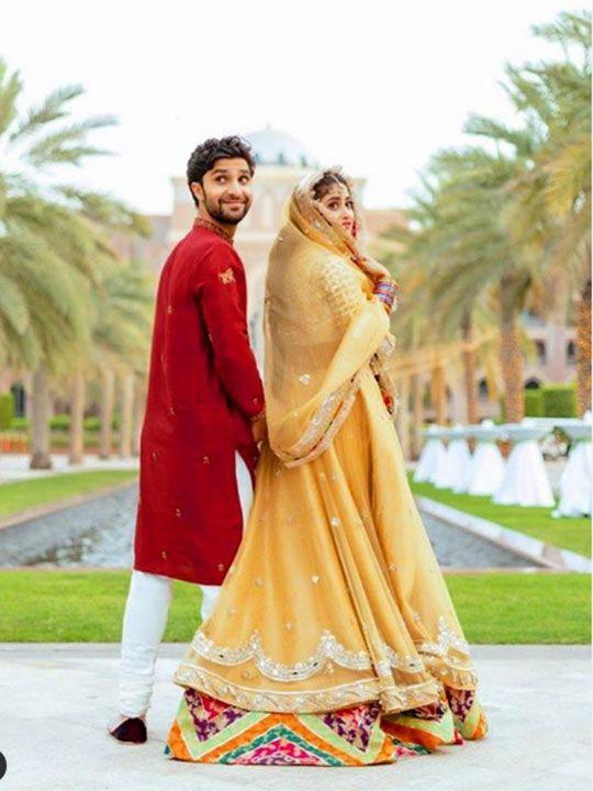 Sajal Ahad Mir and Ahad Raza Mir