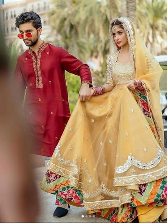 Sajal and Ahad Raza Mir