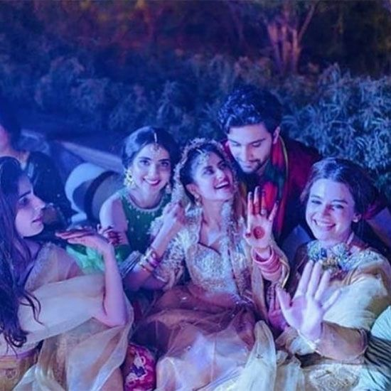 Sajal and Ahad like to keep their life personal, therefore, it was a private function with close friends and family