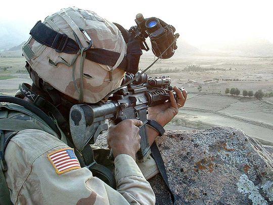 US Afghan forces