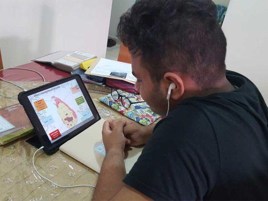 E-learning session Dubai