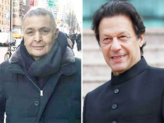 Rishi Kapoor and Imran Khan