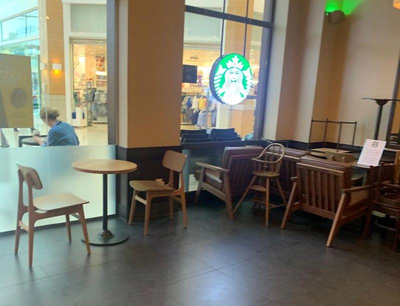 Social distancing restaurants in Dubai