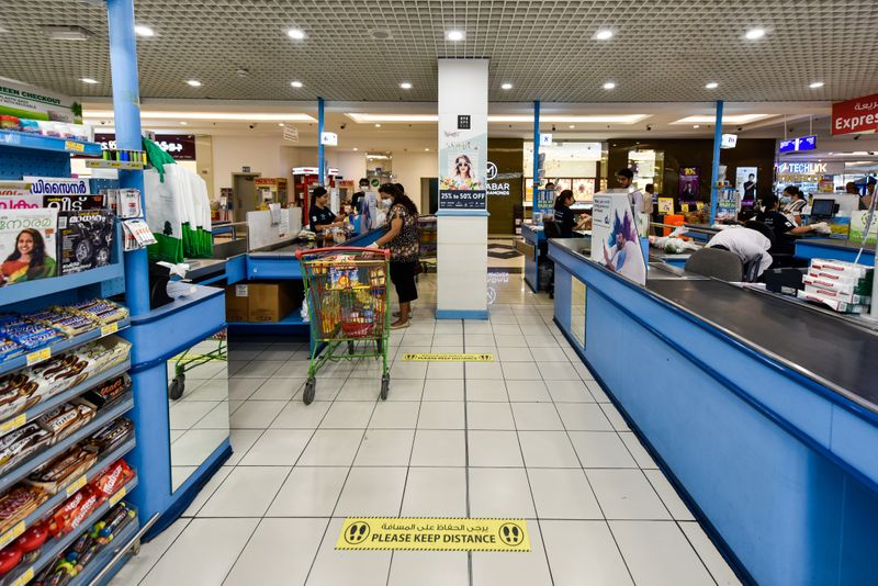 Supermarket Social distancing