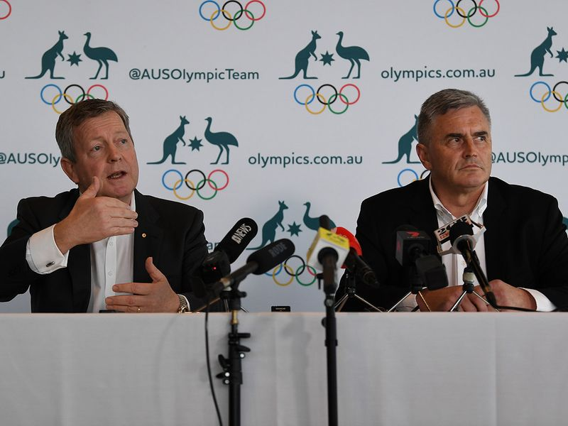 Australia Olympic chief Matt Carroll