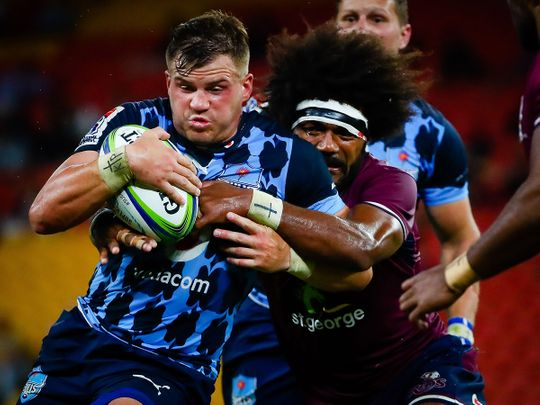 Australia's Queensland Reds and South Africa's Bulls in Suncorp Stadium, Brisbane on March 14