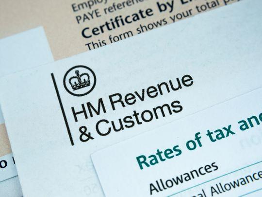 HM revenue Britain tax