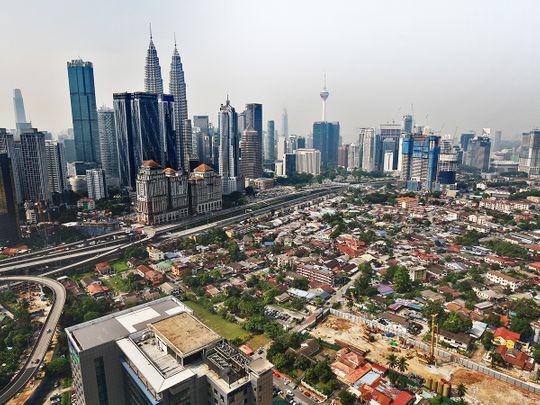Kuala Lumpur skyline Malaysia
