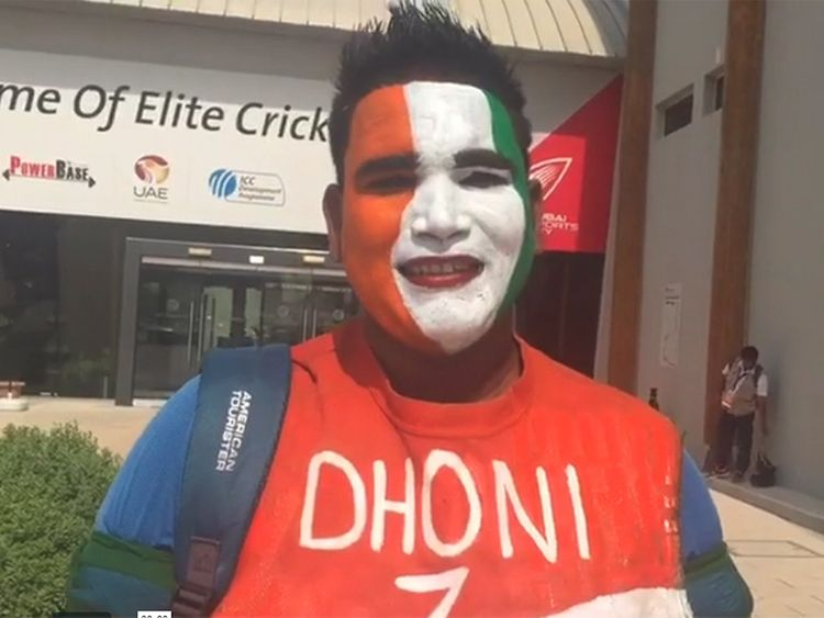 MS Dhoni fan