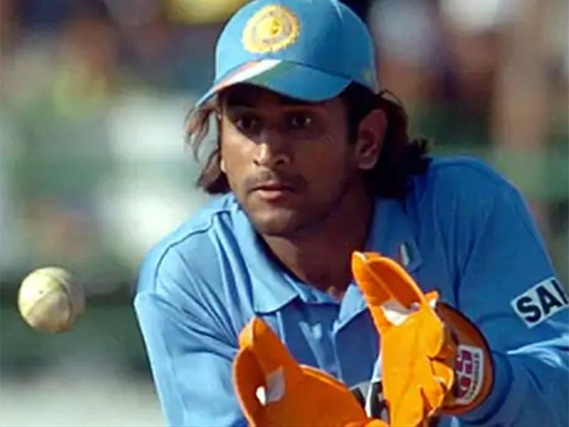MS Dhoni makes his India debut in 2004