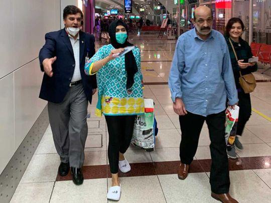 Pakistan passengers