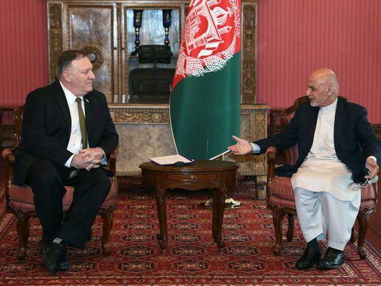 Pompeo Gani Afghanistan