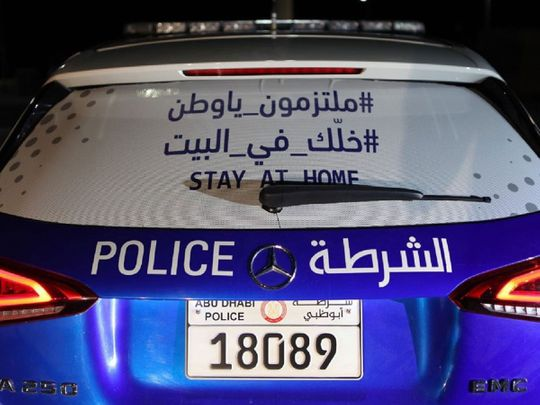 Abu Dhabi Police call residents to stay home