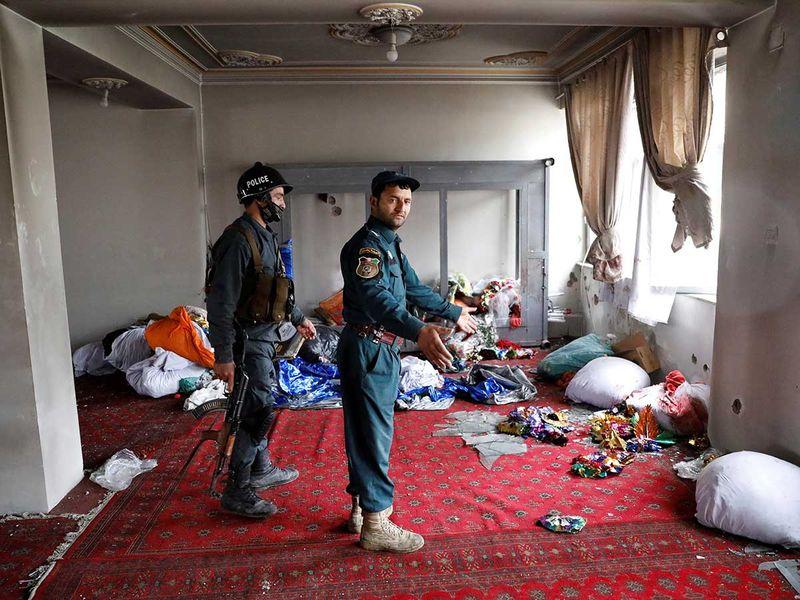 Afghan attack Sikh