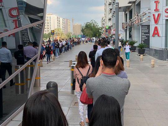 Dubai metro social distancing