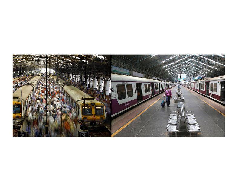 India's railways shut down