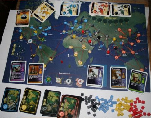 Pandemic board game-1585130607615