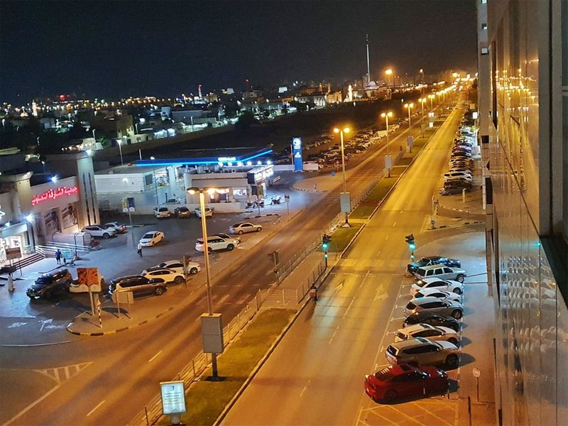 Khalidiya street in Sharjah.