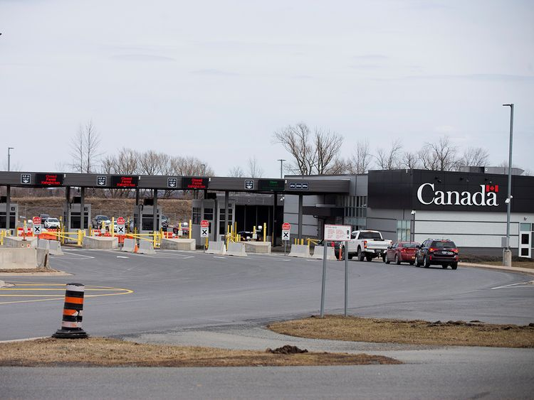 Coronavirus Canada Attacks Trump Plan To Deploy Troops At