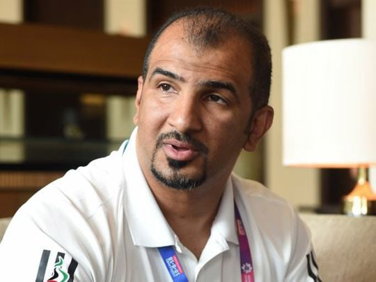 Ahmad Al Tayeb, the Chairman, Technical and Sports Department of the UAE NOC